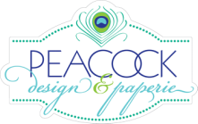 Peacock Design & Paperie  - Wedding Invitation Graphic Design Services and Printing, Reading PA